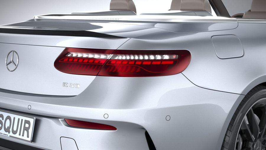 Mercedes E53 Cabrio AMG 2021 royalty-free 3d model - Preview no. 19