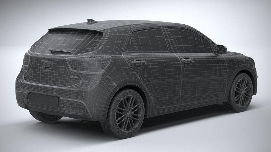 Kia Rio 2021 royalty-free 3d model - Preview no. 30