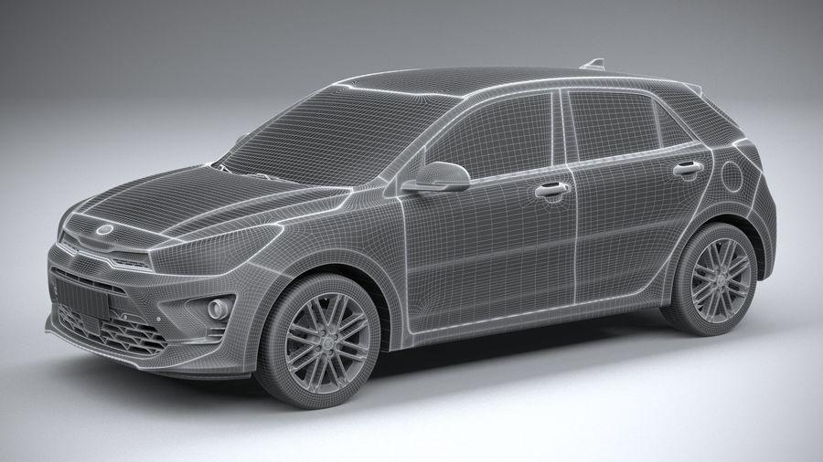 Kia Rio 2021 royalty-free 3d model - Preview no. 27