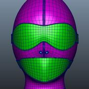 Y286 face shield 3d model