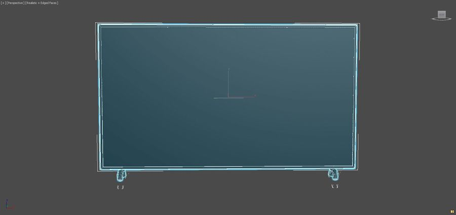 Led Tv royalty-free 3d model - Preview no. 7