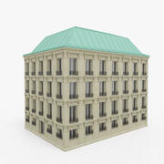 Fransız Binası 3d model