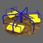 Rotating Wheel (Carousel) 3d model