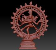 Shiva tanrı 3d model