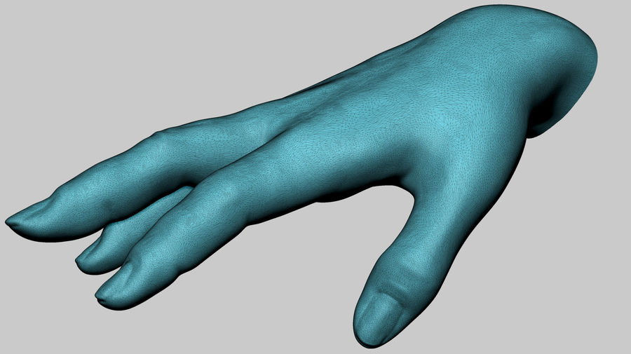 Female Hand Printable royalty-free 3d model - Preview no. 10