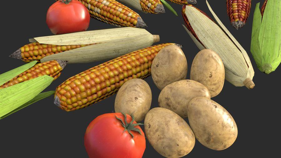 Vegetables Asset 01 royalty-free 3d model - Preview no. 7