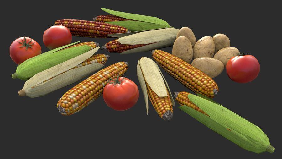 Vegetables Asset 01 royalty-free 3d model - Preview no. 5