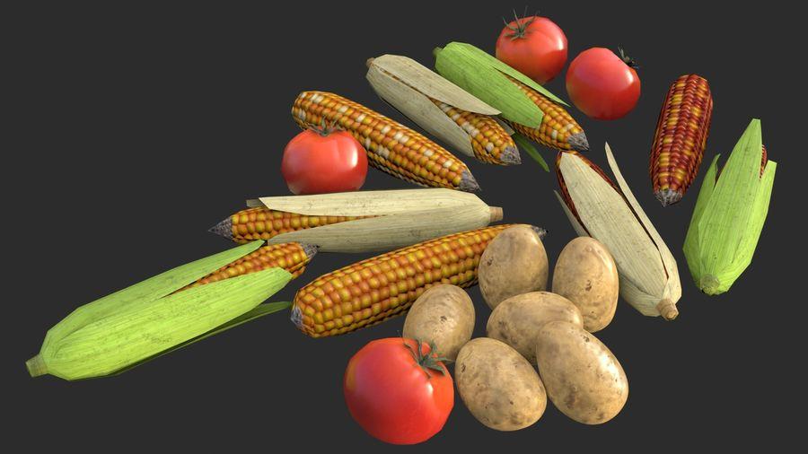 Vegetables Asset 01 royalty-free 3d model - Preview no. 6