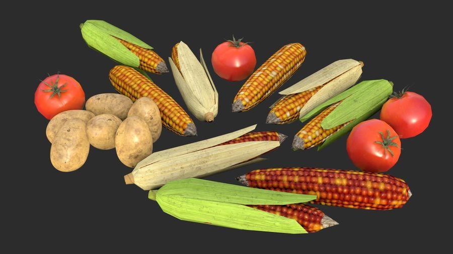 Vegetables Asset 01 royalty-free 3d model - Preview no. 3