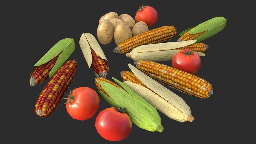 Vegetables Asset 01 royalty-free 3d model - Preview no. 4