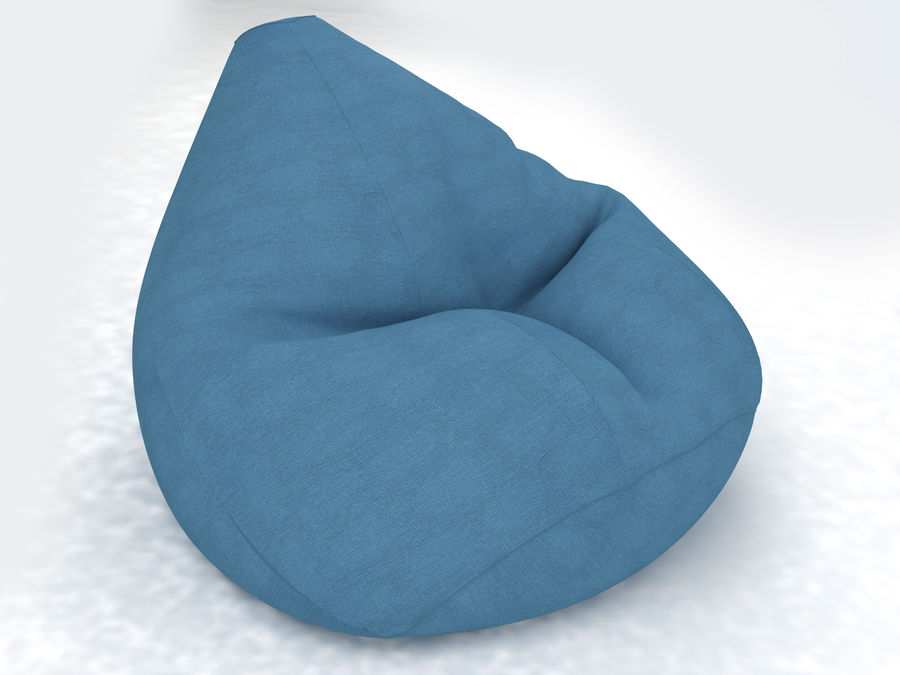 Bean Bag chair royalty-free 3d model - Preview no. 1