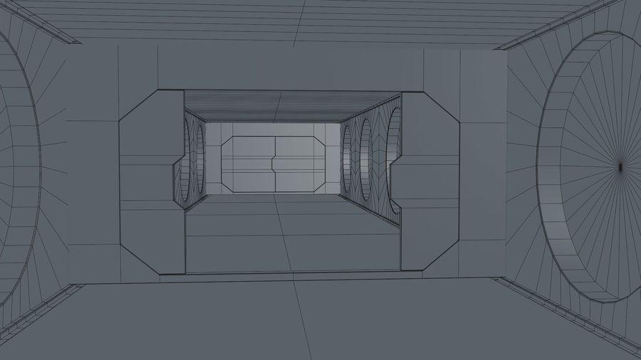 Sci Fi Corridor royalty-free 3d model - Preview no. 22