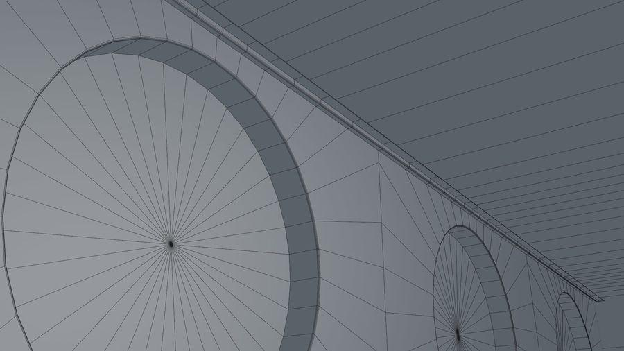 Sci Fi Corridor royalty-free 3d model - Preview no. 14