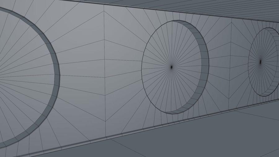 Sci Fi Corridor royalty-free 3d model - Preview no. 13