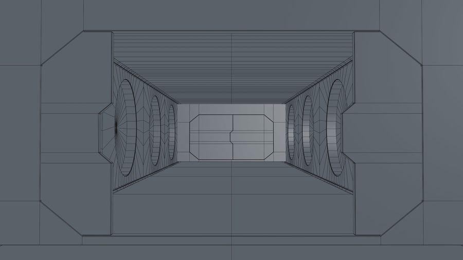 Sci Fi Corridor royalty-free 3d model - Preview no. 21
