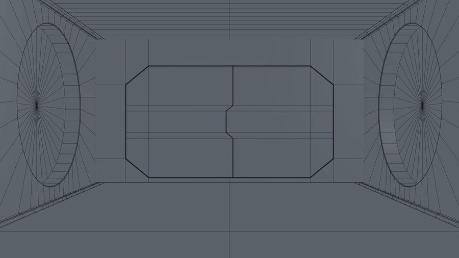 Sci Fi Corridor royalty-free 3d model - Preview no. 17