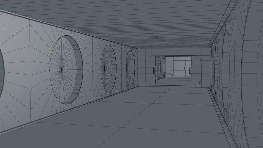 Sci Fi Corridor royalty-free 3d model - Preview no. 20