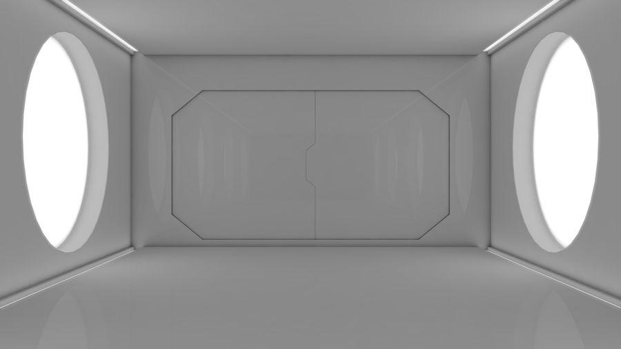 Sci Fi Corridor royalty-free 3d model - Preview no. 2