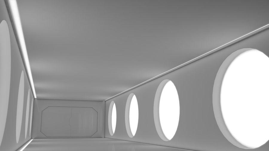 Sci Fi Corridor royalty-free 3d model - Preview no. 6