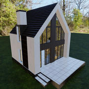 Cottage Building 3d model