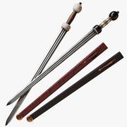 Roman Cavalry Sword 3d model