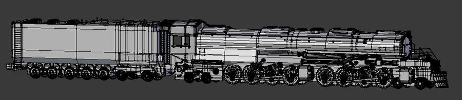 低ポリ蒸気機関機関車 royalty-free 3d model - Preview no. 12