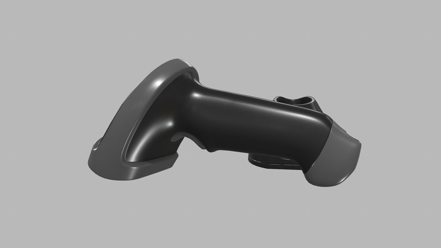 Barcode Scanner royalty-free 3d model - Preview no. 12