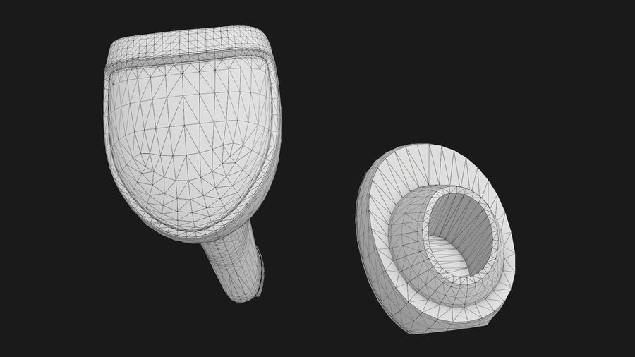 Barcode Scanner royalty-free 3d model - Preview no. 20