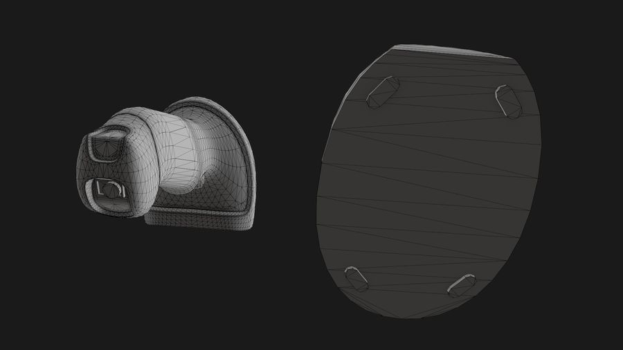 Barcode Scanner royalty-free 3d model - Preview no. 19
