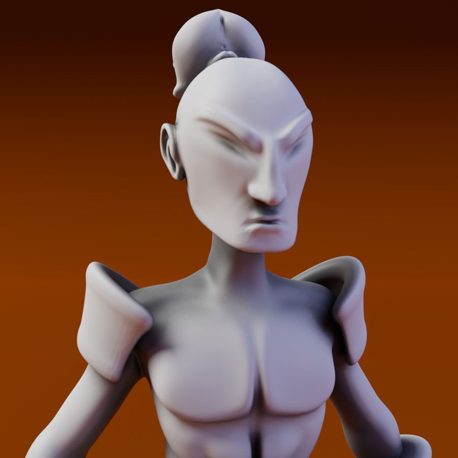 Samuelrai - Print royalty-free 3d model - Preview no. 1
