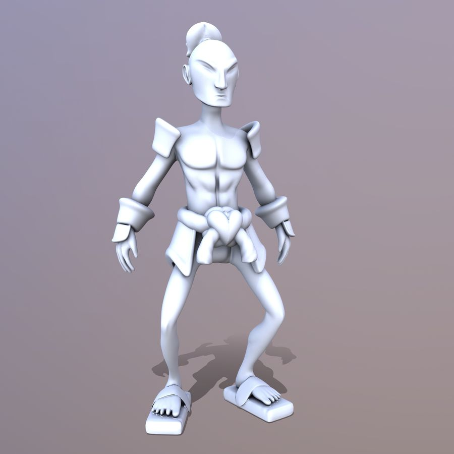 Samuelrai - Print royalty-free 3d model - Preview no. 3