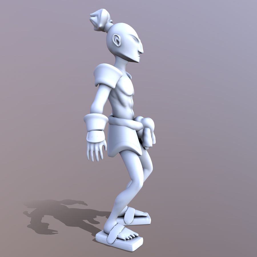 Samuelrai - Print royalty-free 3d model - Preview no. 5