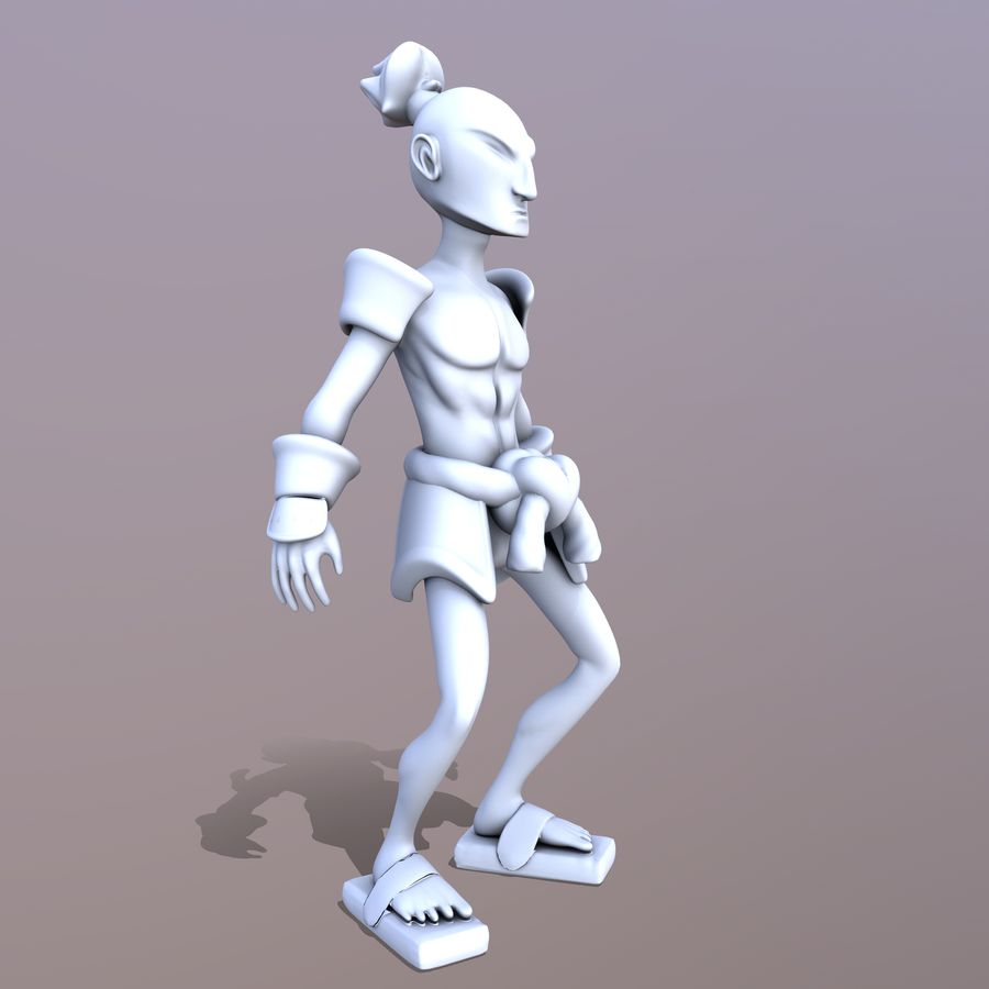 Samuelrai - Print royalty-free 3d model - Preview no. 4