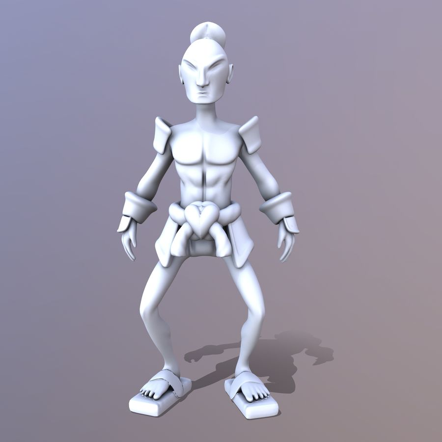 Samuelrai - Print royalty-free 3d model - Preview no. 12