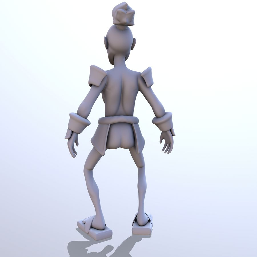 Samuelrai - Print royalty-free 3d model - Preview no. 8