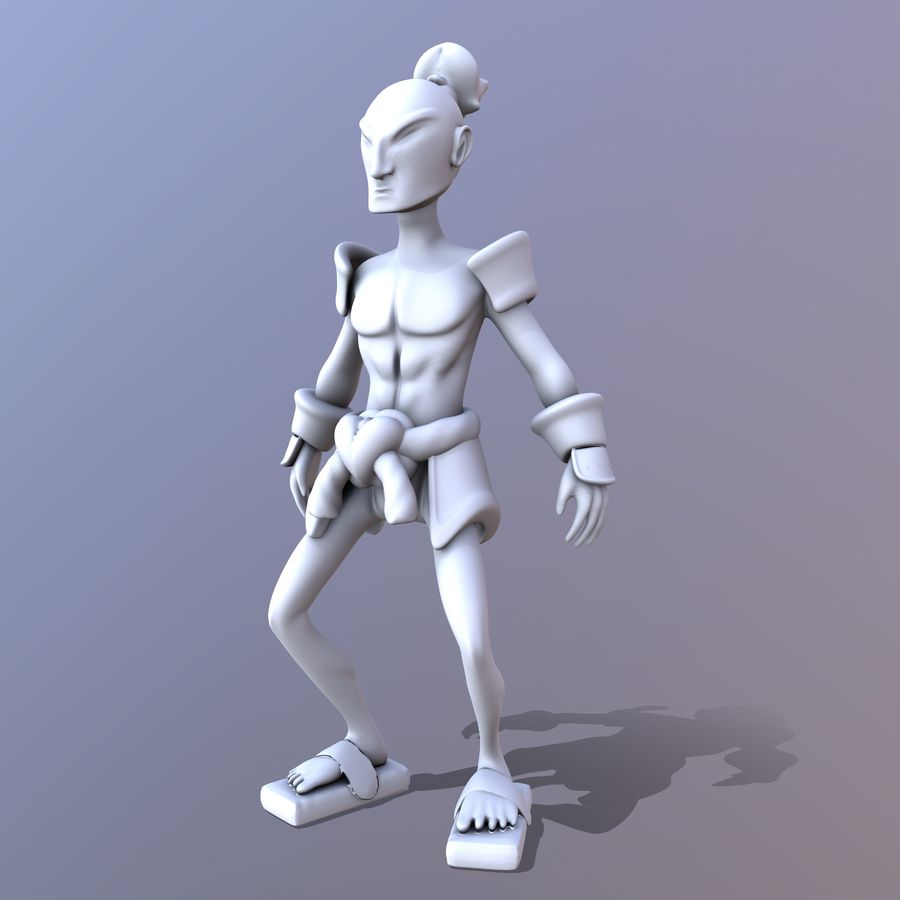 Samuelrai - Print royalty-free 3d model - Preview no. 11