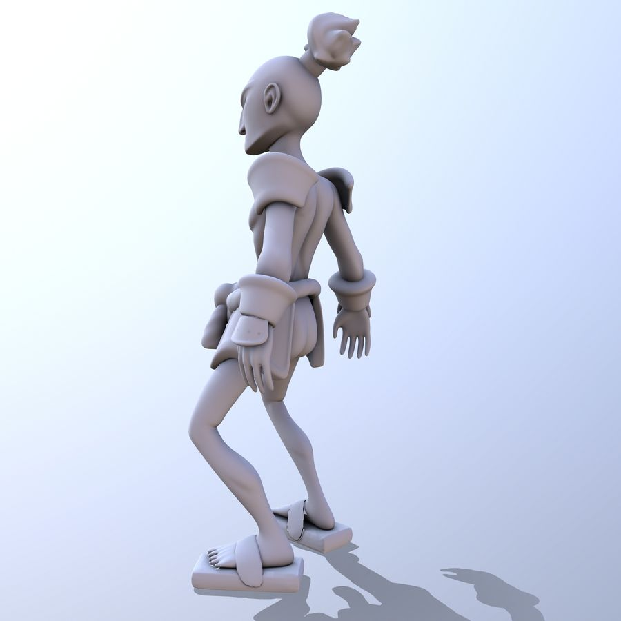 Samuelrai - Print royalty-free 3d model - Preview no. 9