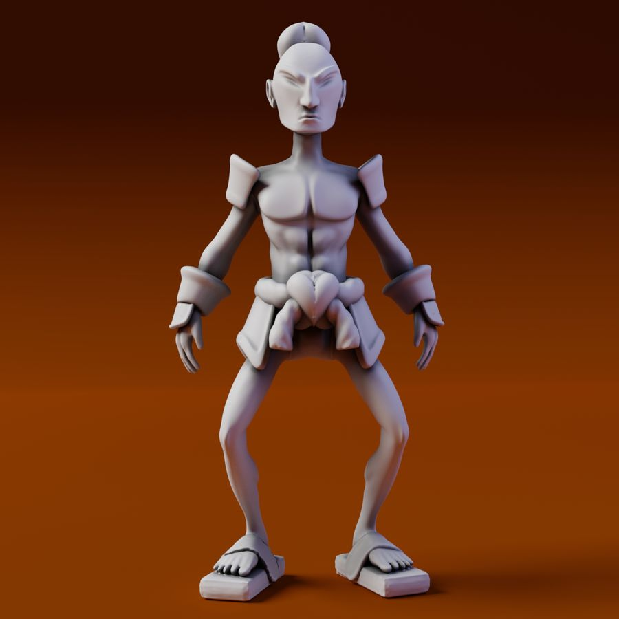 Samuelrai - Print royalty-free 3d model - Preview no. 2