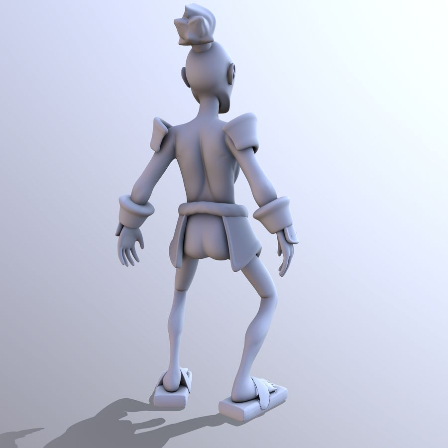 Samuelrai - Print royalty-free 3d model - Preview no. 7