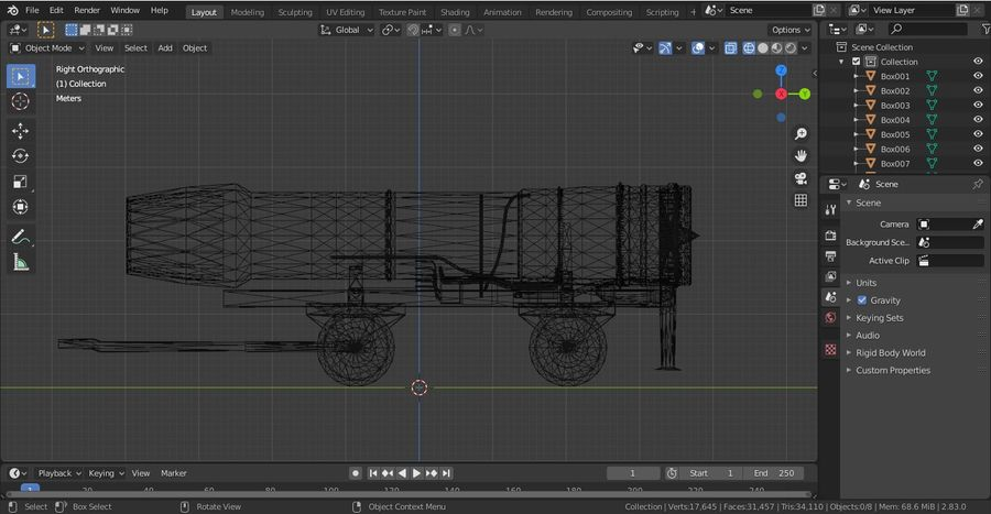 General Electric F414 royalty-free 3d model - Preview no. 6