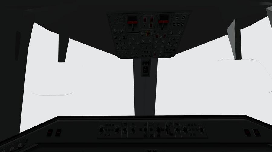 Cockpit Embraer 175 E-2 royalty-free 3d model - Preview no. 4