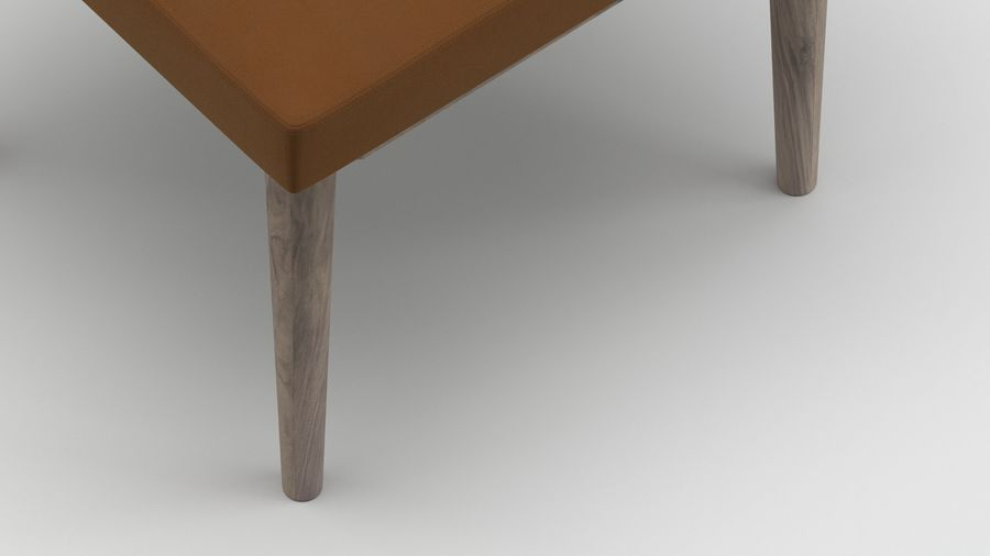 Stool 10 royalty-free 3d model - Preview no. 3