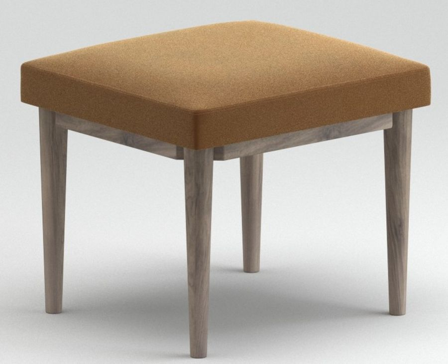 Stool 10 royalty-free 3d model - Preview no. 2