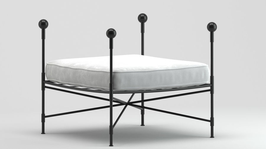Stool 11 royalty-free 3d model - Preview no. 6