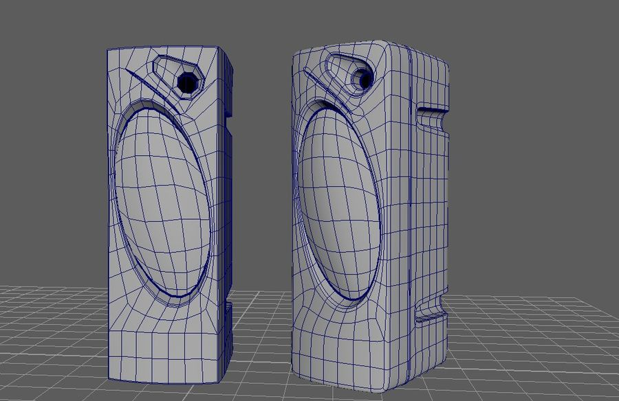 speakers royalty-free 3d model - Preview no. 6