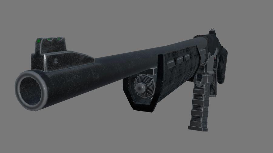 M.F.S gun royalty-free 3d model - Preview no. 1