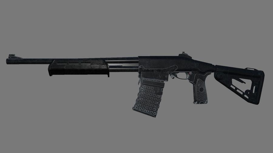 M.F.S gun royalty-free 3d model - Preview no. 3