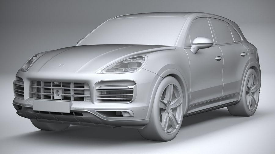Porsche Cayenne GTS 2020 royalty-free 3d model - Preview no. 21