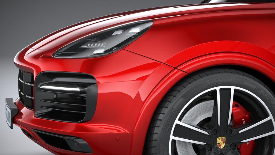 Porsche Cayenne GTS 2020 royalty-free 3d model - Preview no. 4
