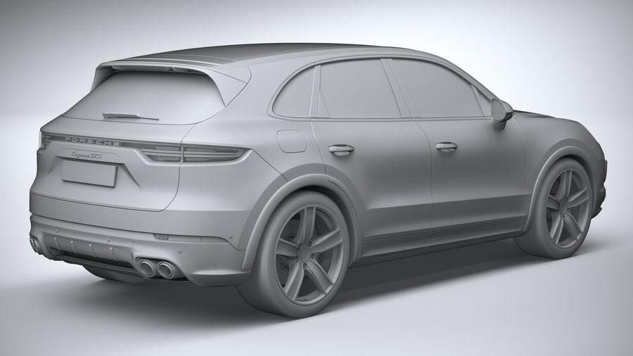 Porsche Cayenne GTS 2020 royalty-free 3d model - Preview no. 26